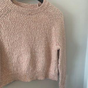 2/$18 Blush Pink / Cropped / Sweater